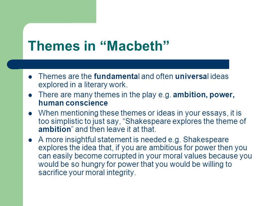 macbeth conflict essay macbeth\u201d by william shakespeare ppt video - macbeth conflict essay