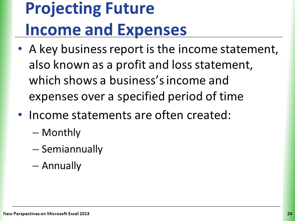 Tutorial 9 Exploring Financial Tools and Functions - ppt video - microsoft income statement