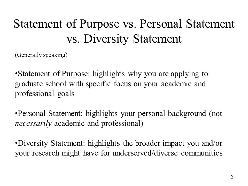 How to Write a Great Statement of Purpose - ppt video online download - goal statement for graduate school