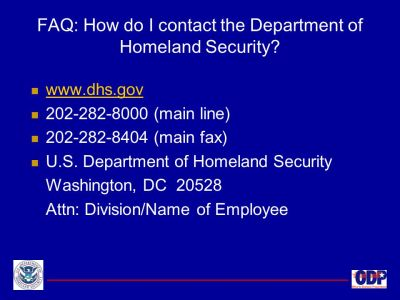 U.S. Department of Homeland Security - ppt download