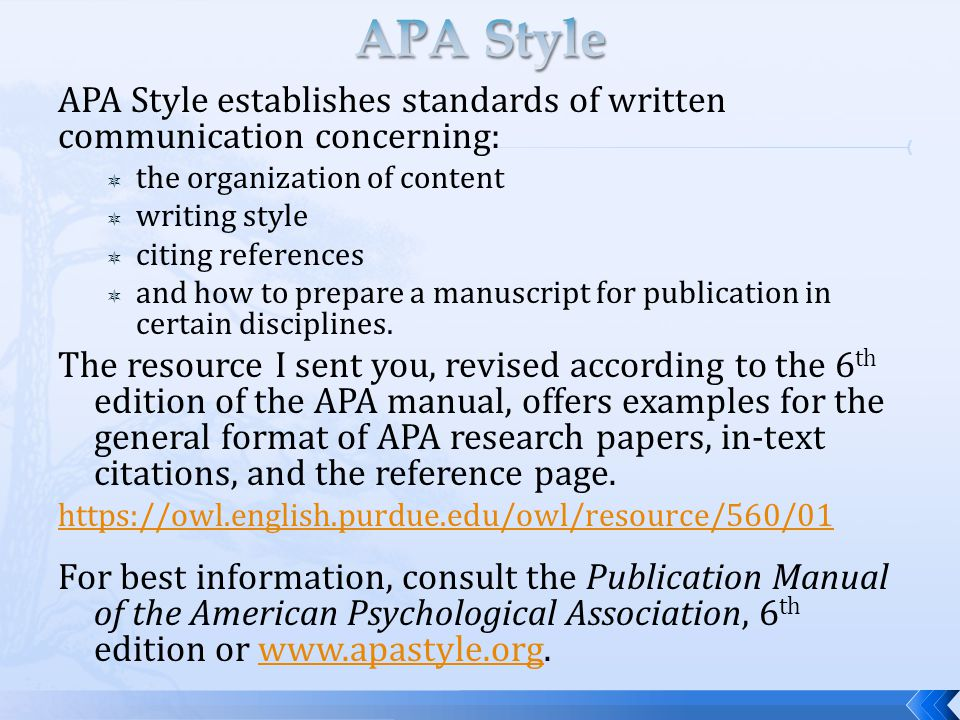Essay Citations Apa Style