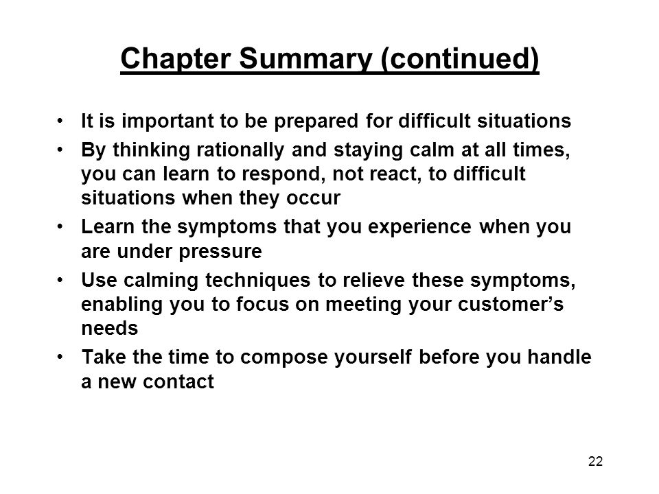 Handling Difficult Situations - ppt video online download - How Do You Handle Difficult Situations