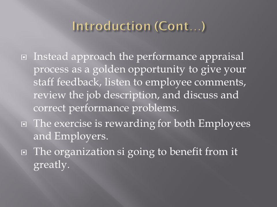 effective employee evaluation steps spintel - effective employee evaluation steps