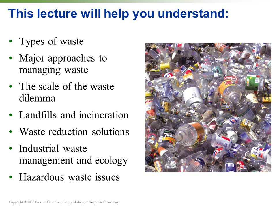 22 Waste Management Part A PowerPoint® Slides prepared by - ppt - waste management ppt