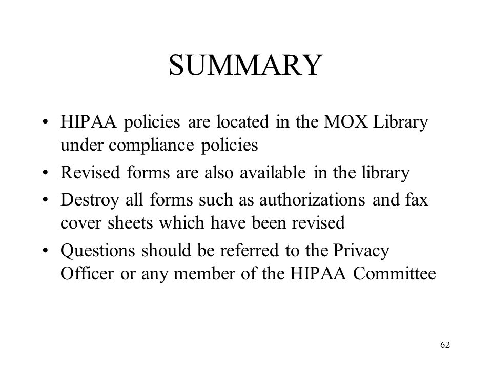 Hipaa Compliance Forms Ideas Collection Of Solutions Pliance