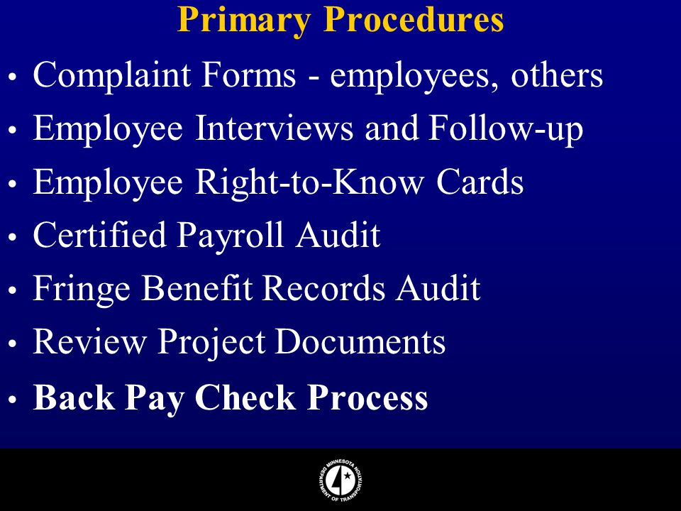 AASHTO National Fraud Awareness Conference - ppt download - certified payroll form
