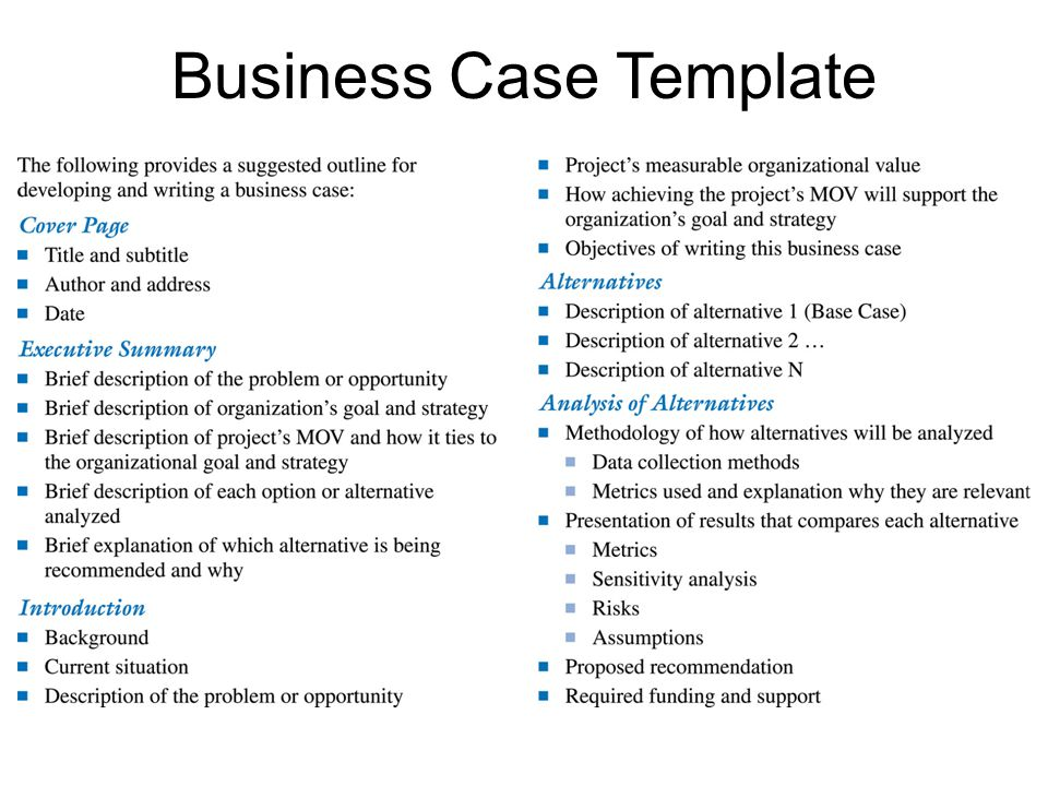 Business case template eliolera business case template eliolera pronofoot35fo Images