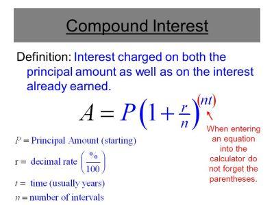Compound Interest. - ppt video online download