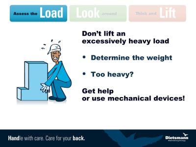 Manual Handling Dietsmann HSE Awareness Campaign. - ppt video online download