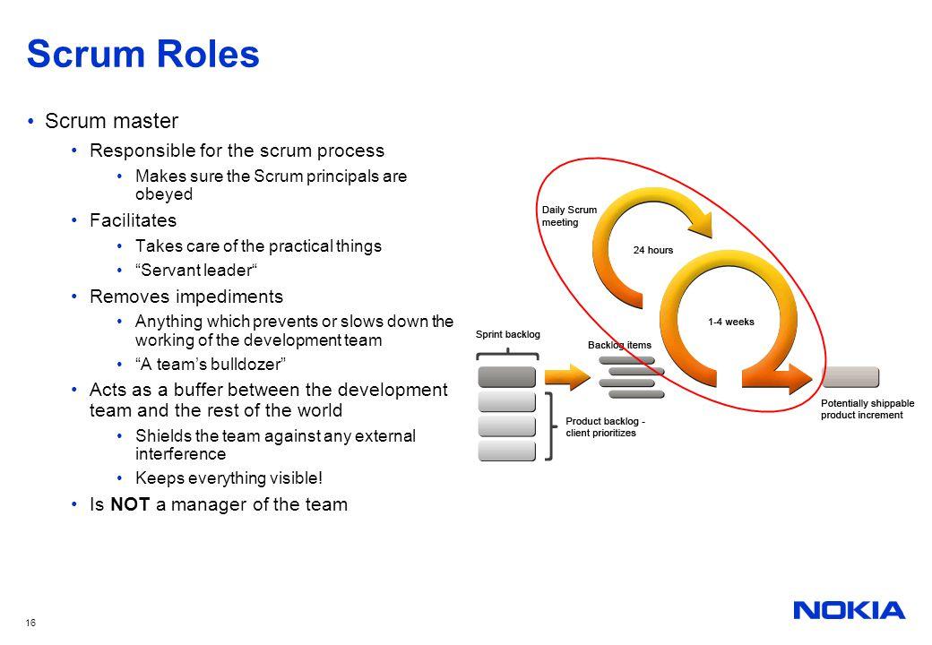 scrum roles - Towerssconstruction