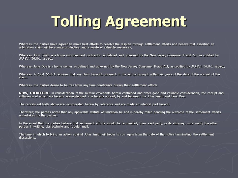 Sample Tolling Agreement Capitol Faxcom Your Illinois News Radar - sample tolling agreement