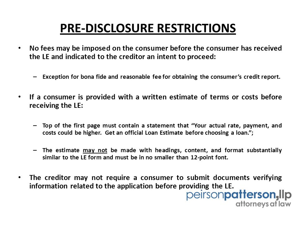TILA-RESPA INTEGRATED DISCLOSURES BY MATTHEW R FILPI ATTORNEY AT