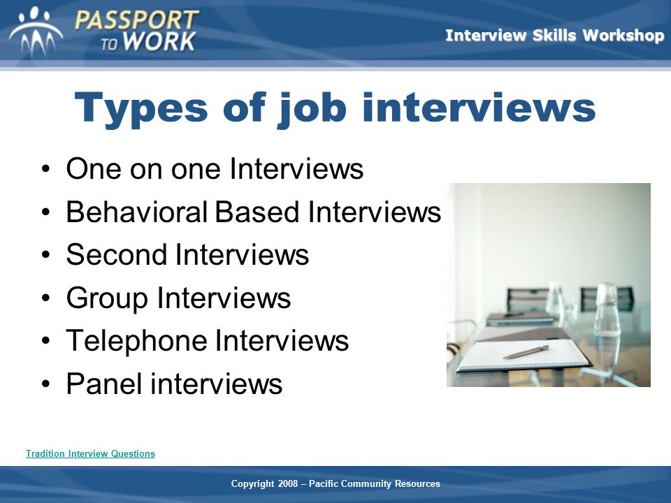 Interview Skills Workshop - ppt video online download