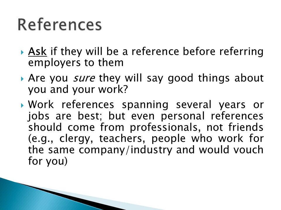 Who To Ask For References kicksneakers