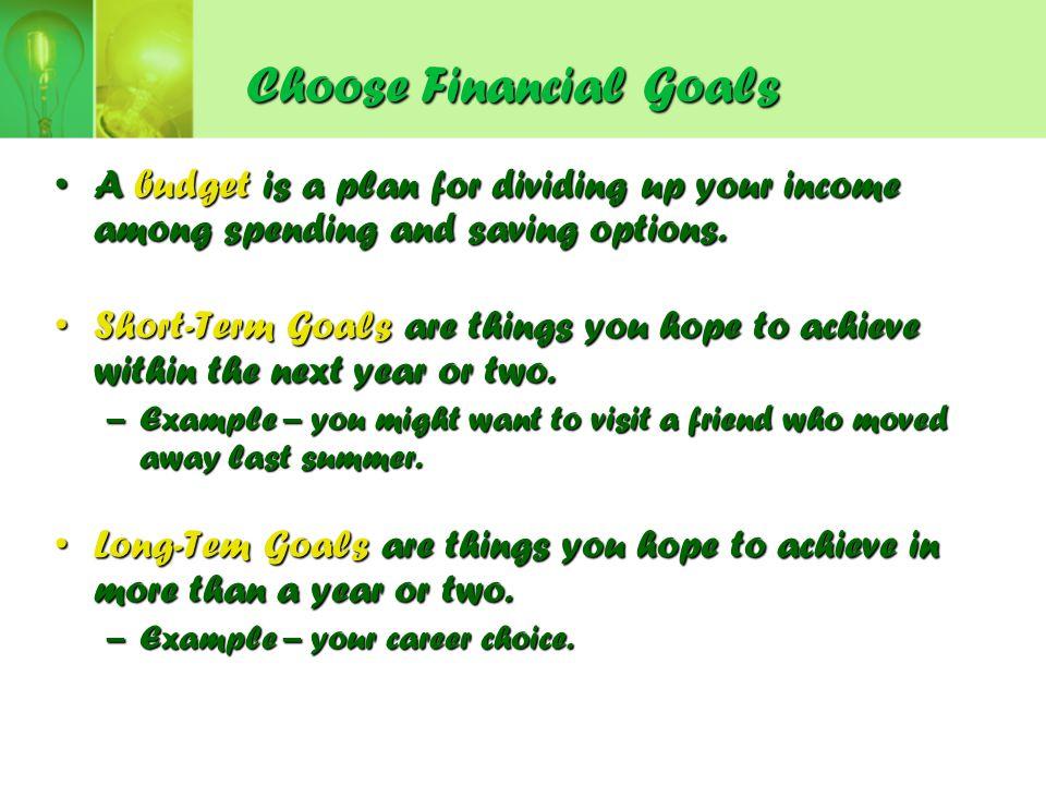 short term career goals examples objectives