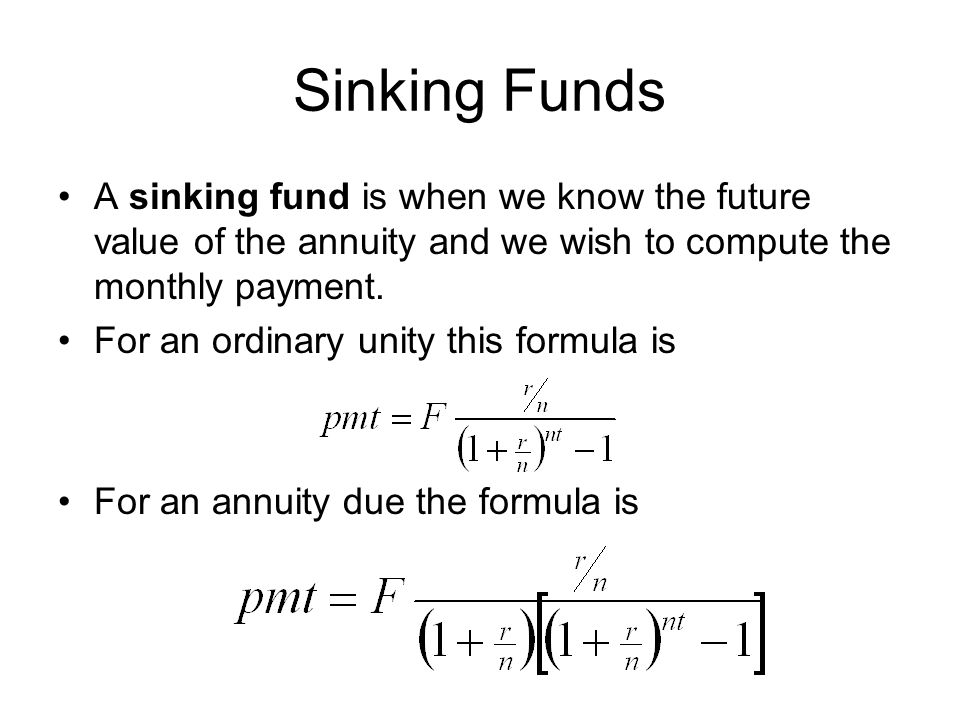 annuities and sinking funds calculator - 28 images - time value of - annuity equation