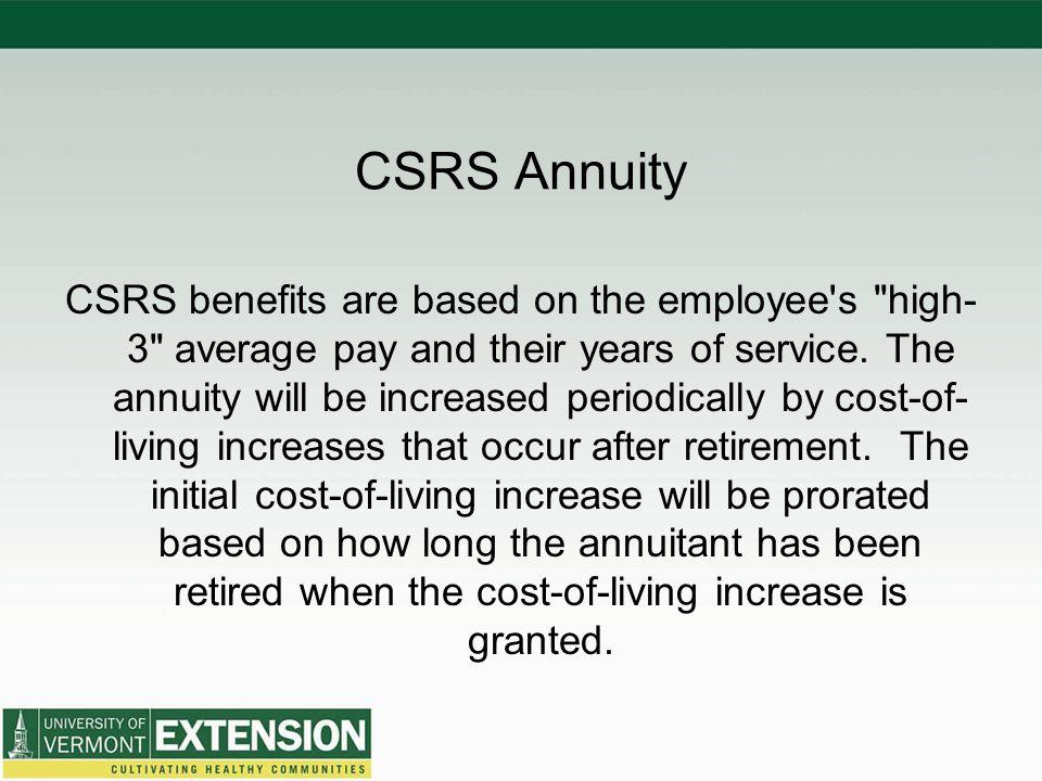 Federal Retirement Program - ppt video online download