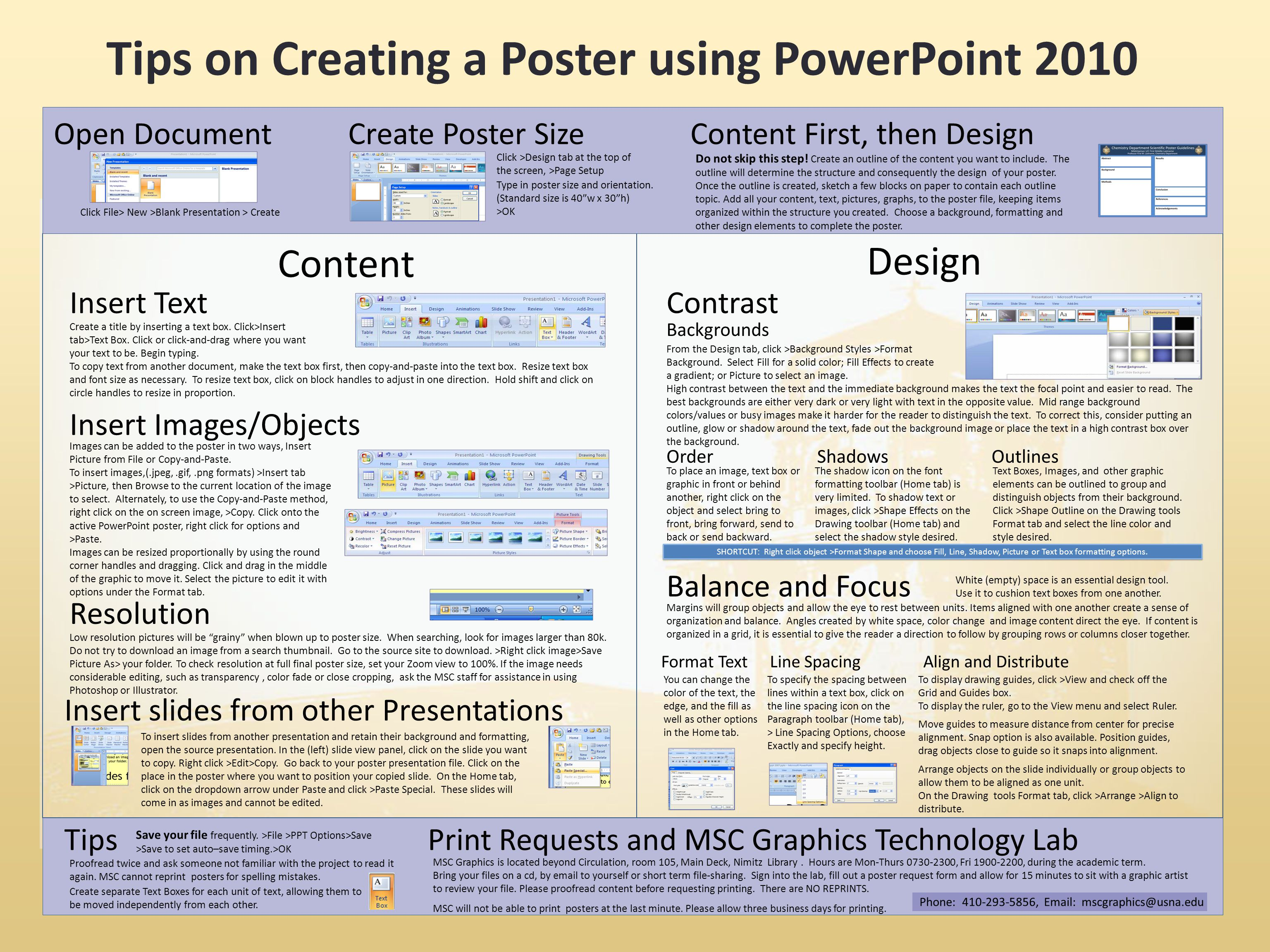 Poster design on powerpoint -  Creating A Poster Using Powerpoint 2010 Download
