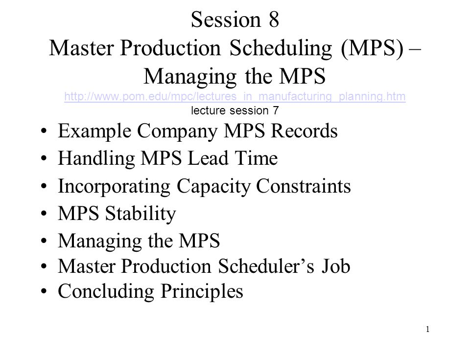 ... Production Scheduler Job Description Doc768994 Master Scheduler ...