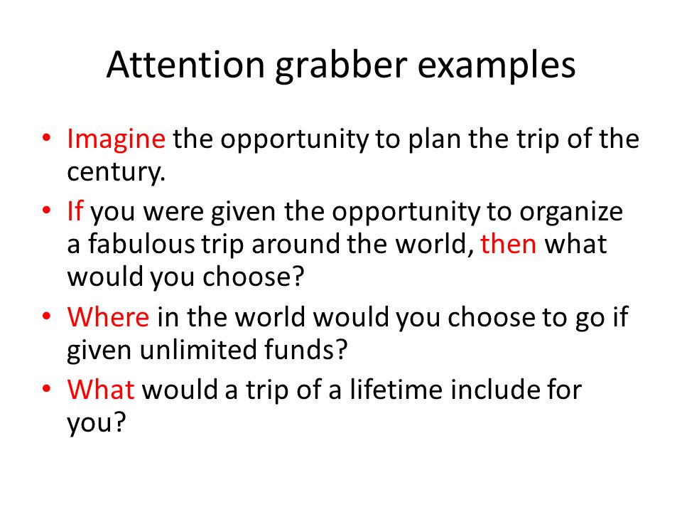 examples of attention grabbers for essays resume templates - examples of