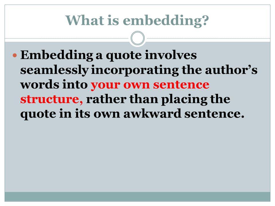 Awkward Sentences Examples