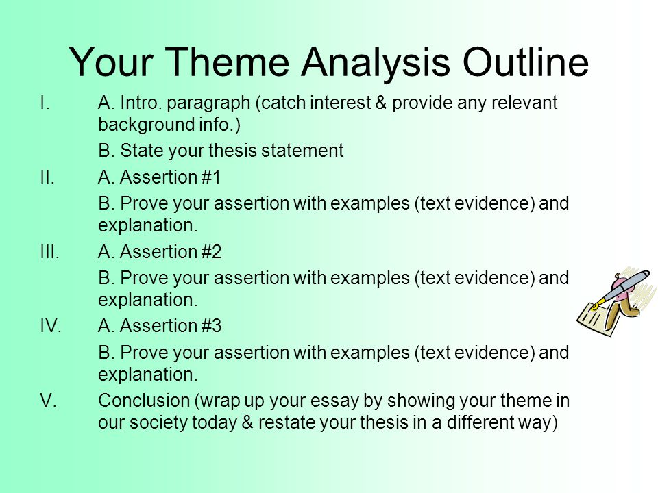 Essay themes examples - Essays UKEssays How to Write a Theme