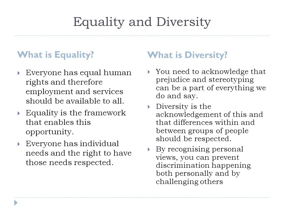 Equality, diversity and rights Essay Example Graduateway