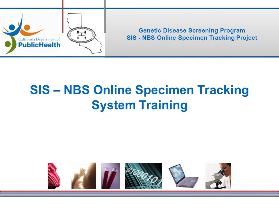 SIS \u2013 NBS Online Specimen Tracking System Training - ppt video - tracking training