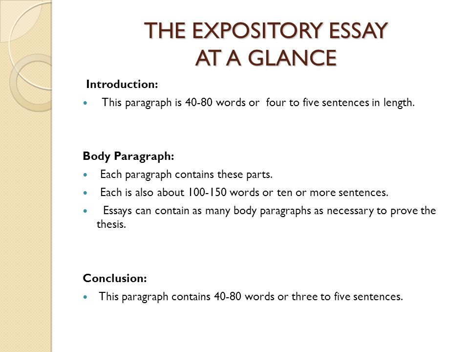 expository essay conclusion