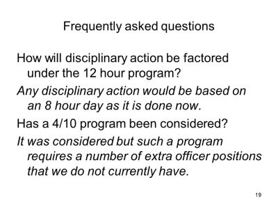 12 Hour Shift Proposal MWAA Police IAD Station. - ppt video online download