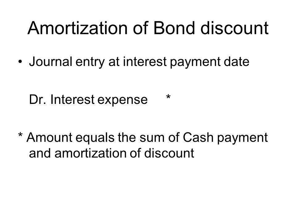 long term liabilities ppt video - Hacisaecsa - amortization bonds