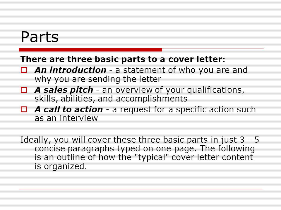 Cover Letters - ppt download