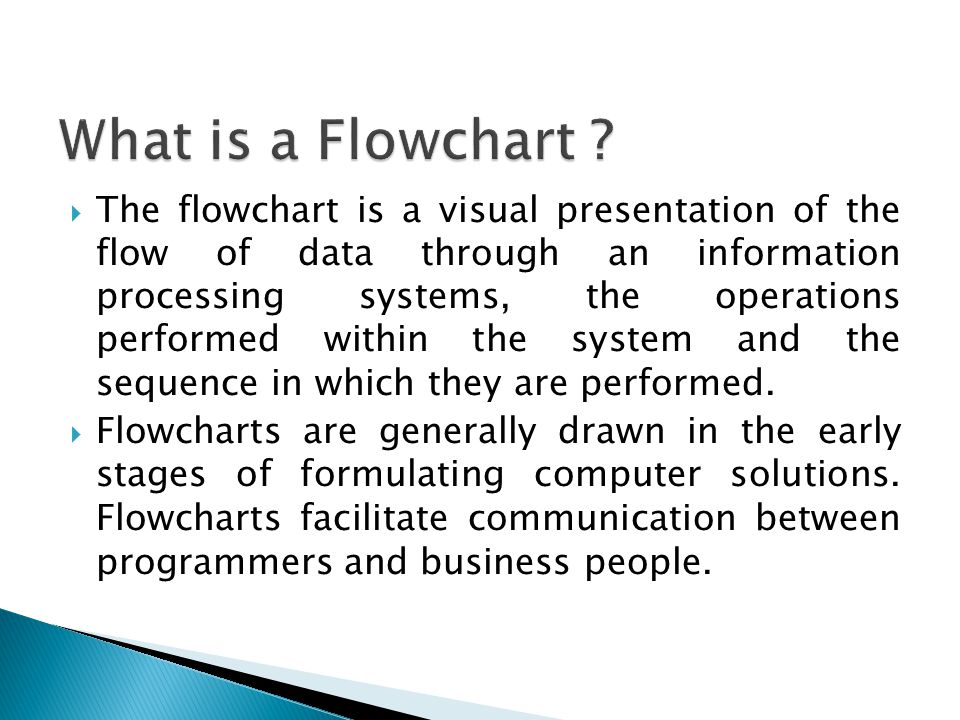 What Is A Flowchart Types Of Flowcharts There Are A What Is A