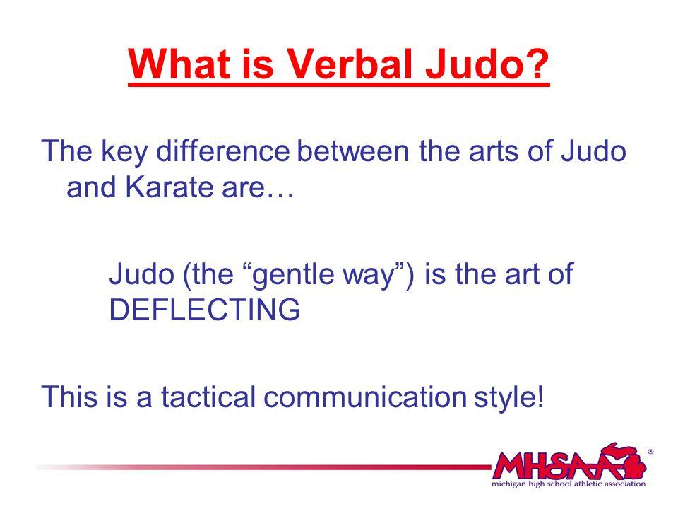 Verbal Judo Powerpoint cvfreepro