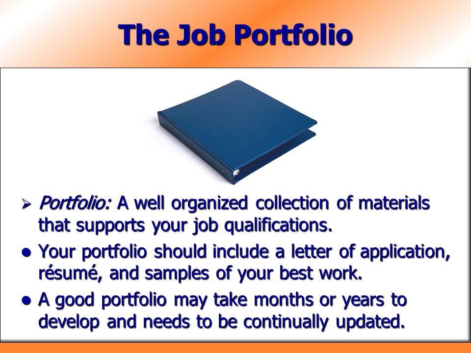 Chapter 16 Applying for Jobs - ppt video online download - Good Job Qualifications