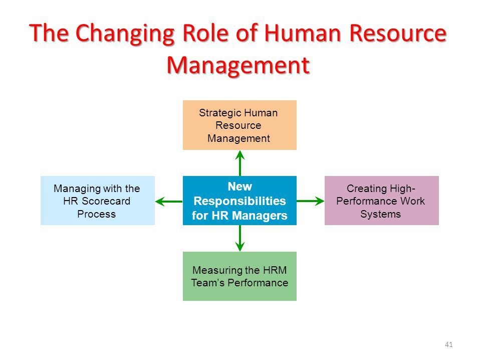 Role of the human resource manager Term paper Academic Service - human resource management job description