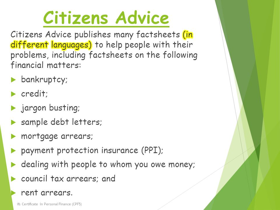 Topic 8 Sources of Financial Advice  the Limitations - ppt download - i owe you certificate