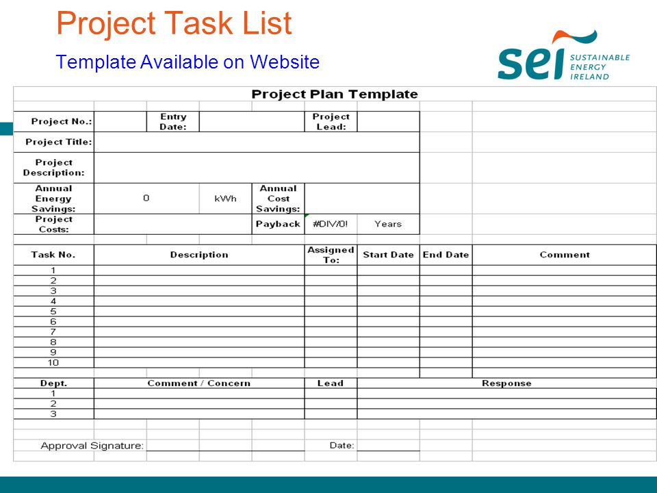 Project Task List Template  Resume Ideas  NamanasaCom