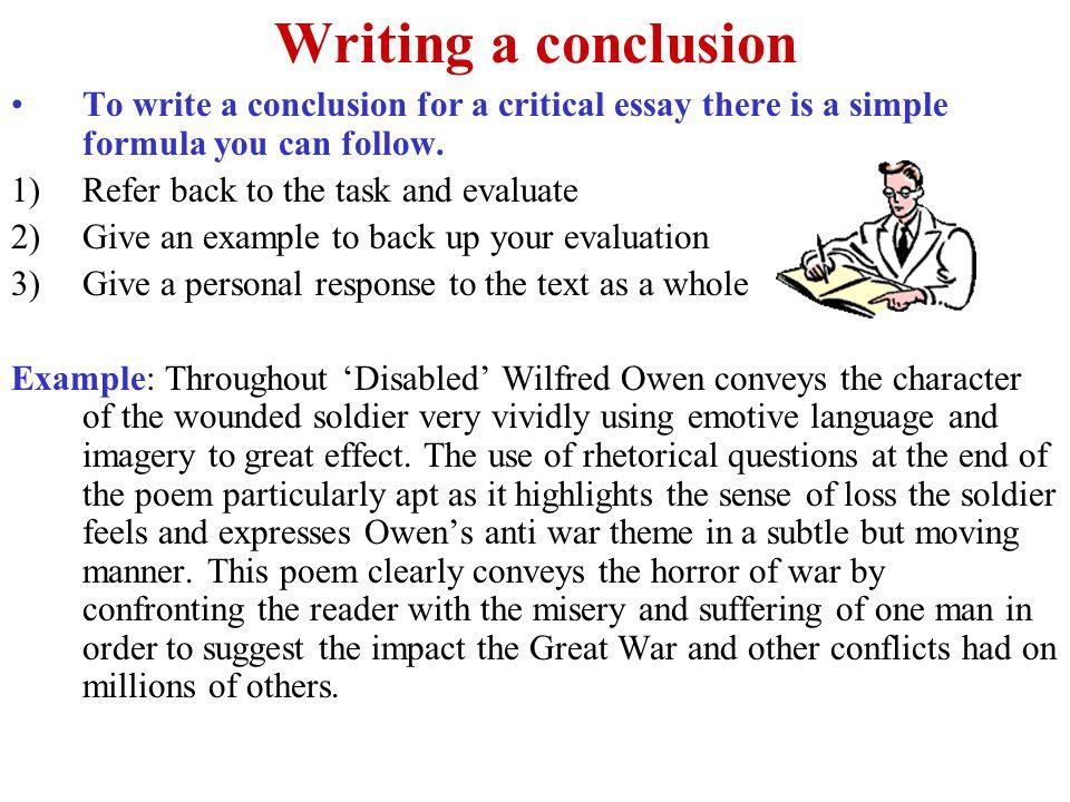 criticism essay example english language essays how to write a good