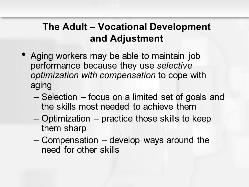 Developmental Tasks, Vocational Development And Career - vocational development stages