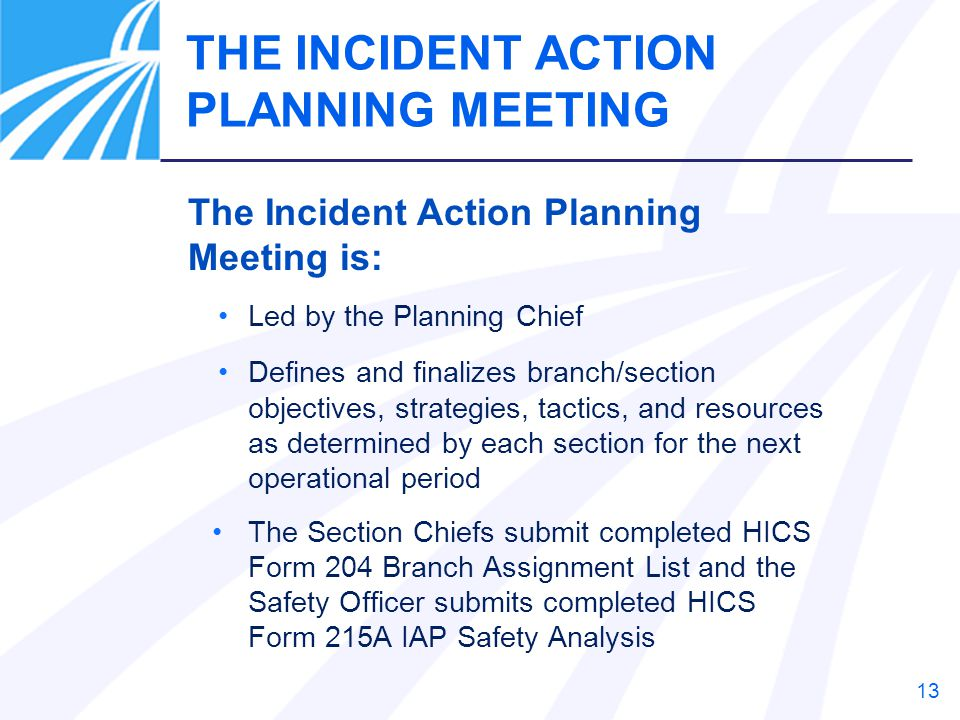HOSPITAL INCIDENT COMMAND SYSTEM - ppt download - incident action plan