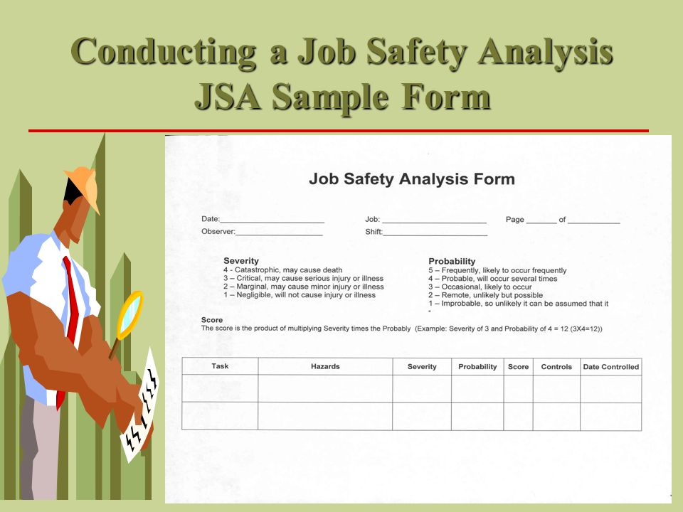 conducting job analysis 2 six steps to conducting a job analysis  need help getting started with a job analysis see if the steps below work for your situation for other information, such as job analysis template worksheets, tips on writing tasks and.