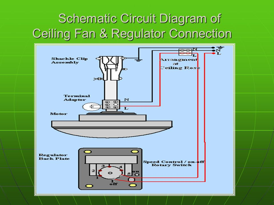 Part Winding Start Motor Wiring Diagram Ceiling Fan Object To Study The Part Dismantling
