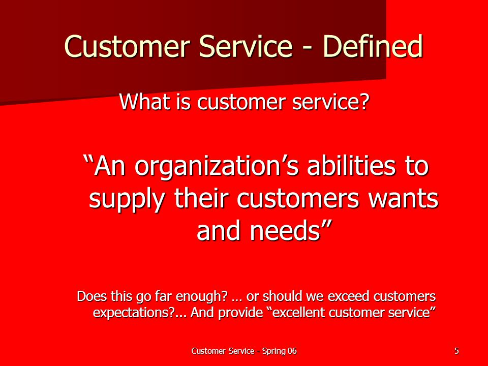 ... Customer Service For Fire Departments   Ppt Download   Definition Of Excellent  Customer Service ...  Definition Of Excellent Customer Service