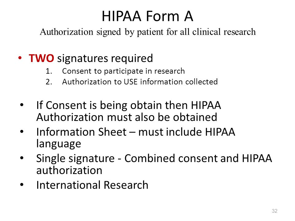 HIPAA HITECH Briefing IRB Monthly Investigator Meeting - ppt video - hipaa form