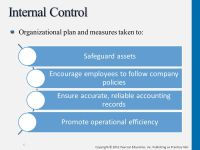 Internal Control & Cash - ppt download