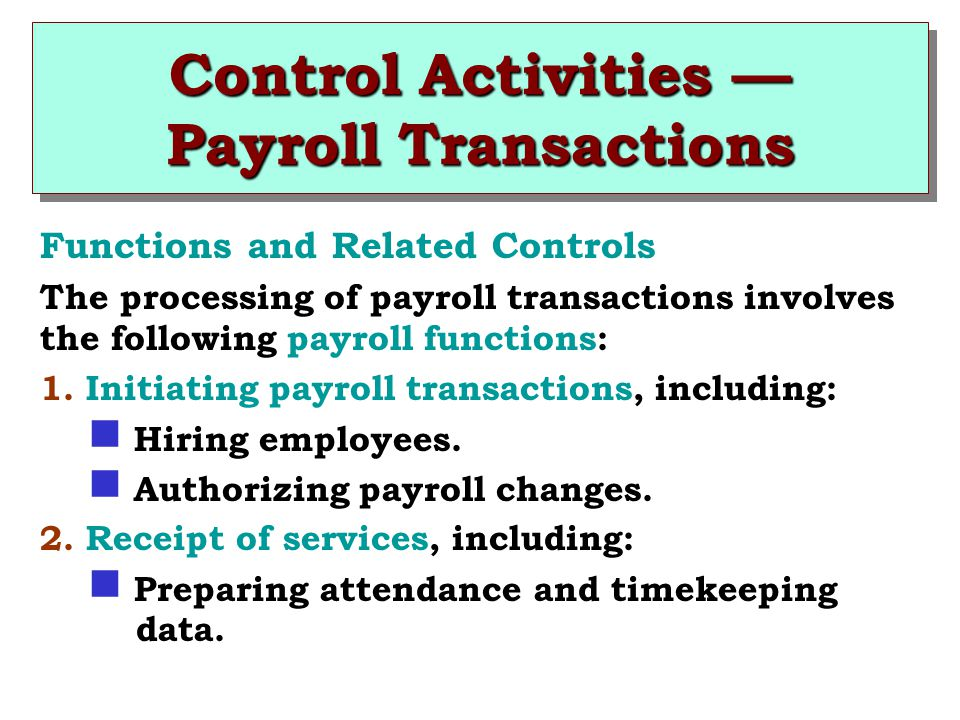 MODERN AUDITING 7th Edition - ppt download - payroll receipt