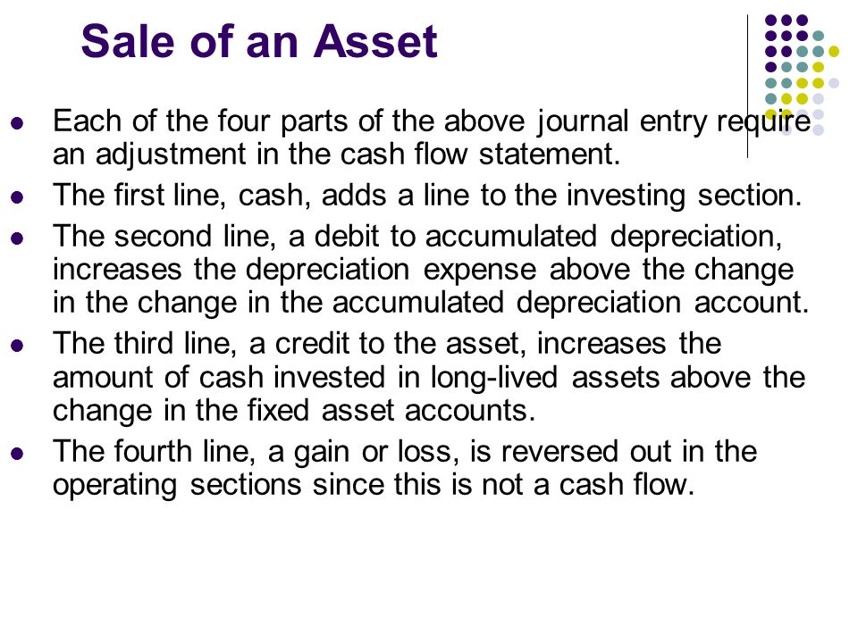 Statement of Cash Flows- First Approach - ppt video online download - cash flow statement