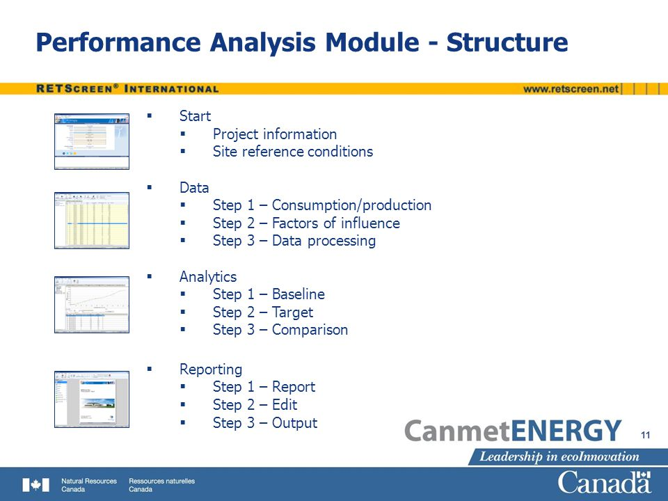 Energy Performance Analysis with RETScreen - ppt video online download - performance analysis report