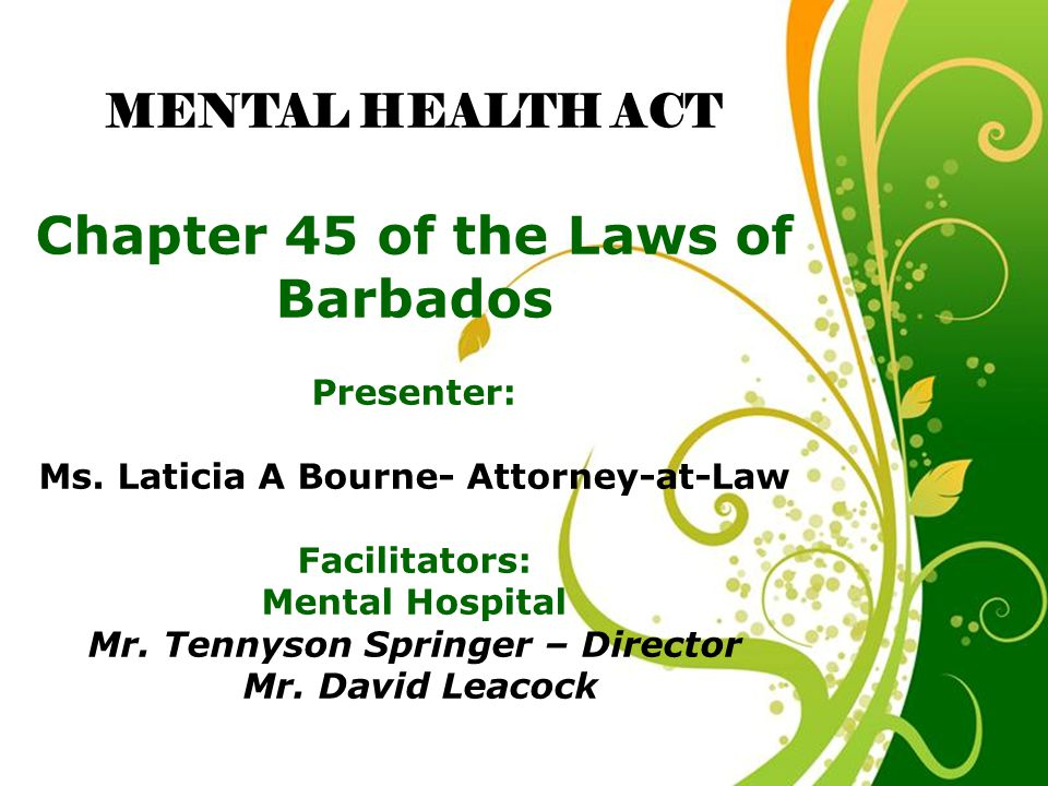 Chapter 45 of the Laws of Barbados - ppt video online download
